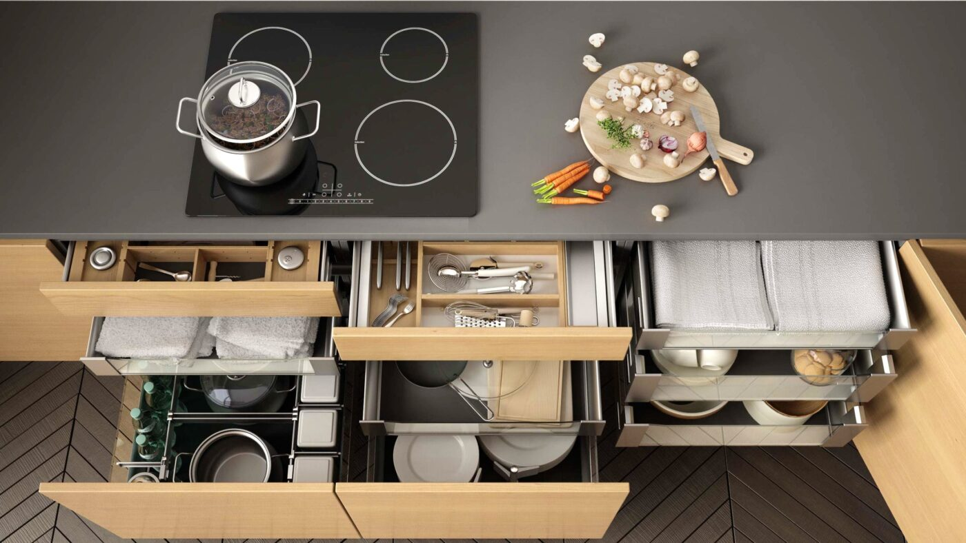Steps to organize your kitchen and optimize your space