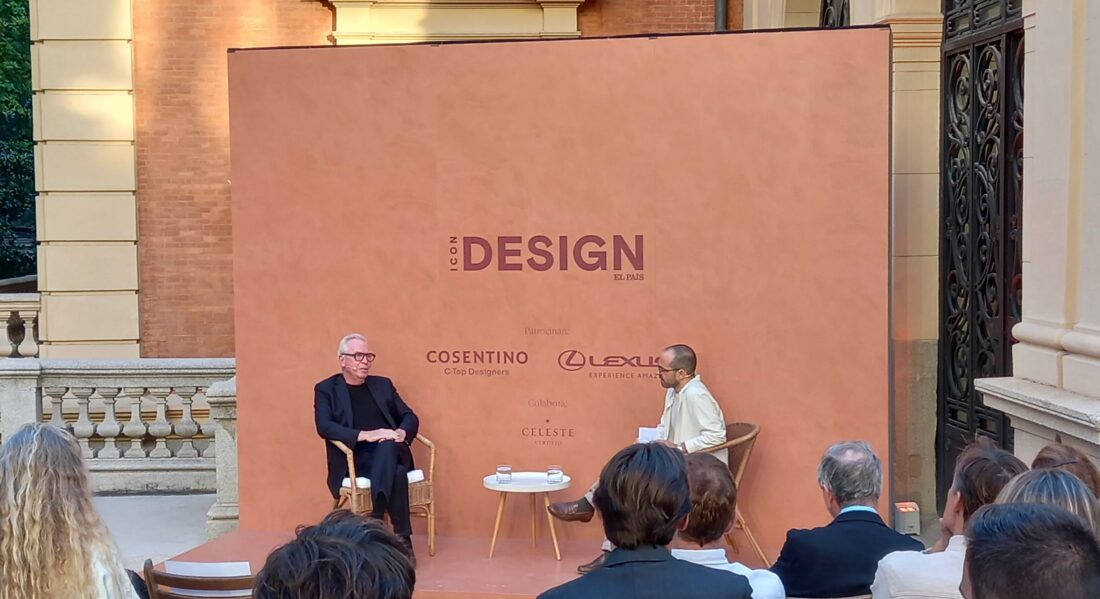Cosentino sponsors the ICON Design event with David Chipperfield
