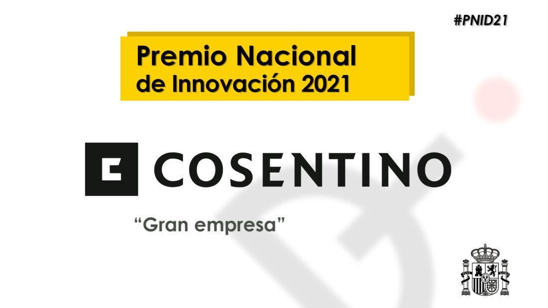 Cosentino, winner of the Spanish National Innovation Award 2021
